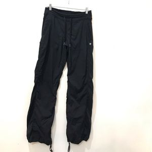 Lululemon Dance Studio Pants Striped Black Size 6